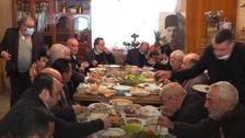 لبنانی وزرا اپنے لاو لشکر سمیت کرونا ایس اویپز کی سنگین خلاف ورزی کے مرتکب