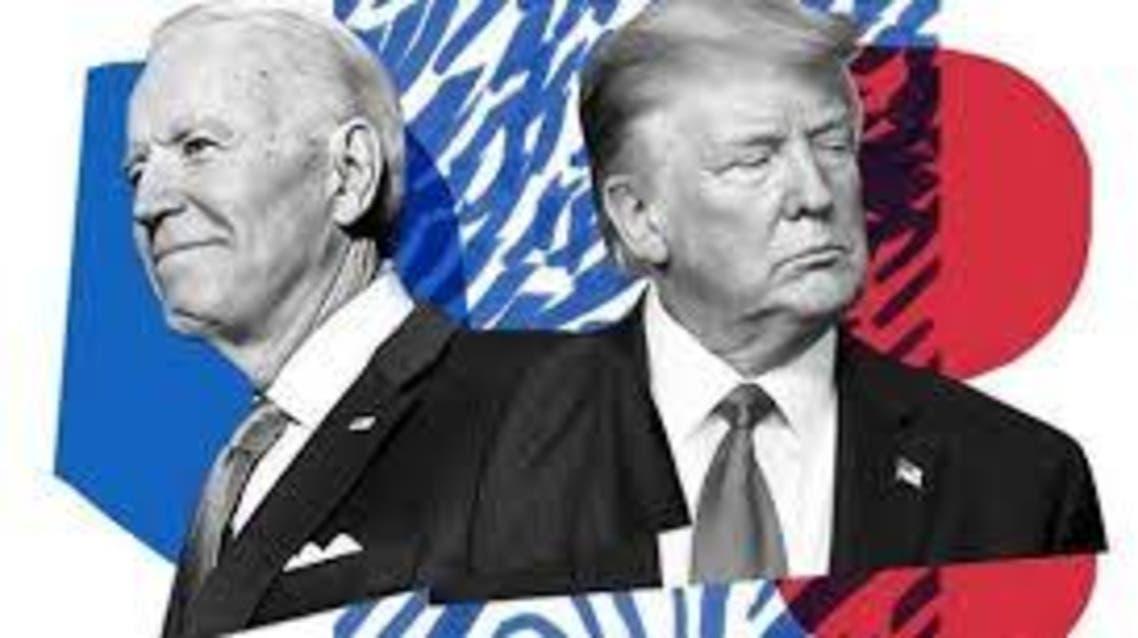Joe Biden and Trump