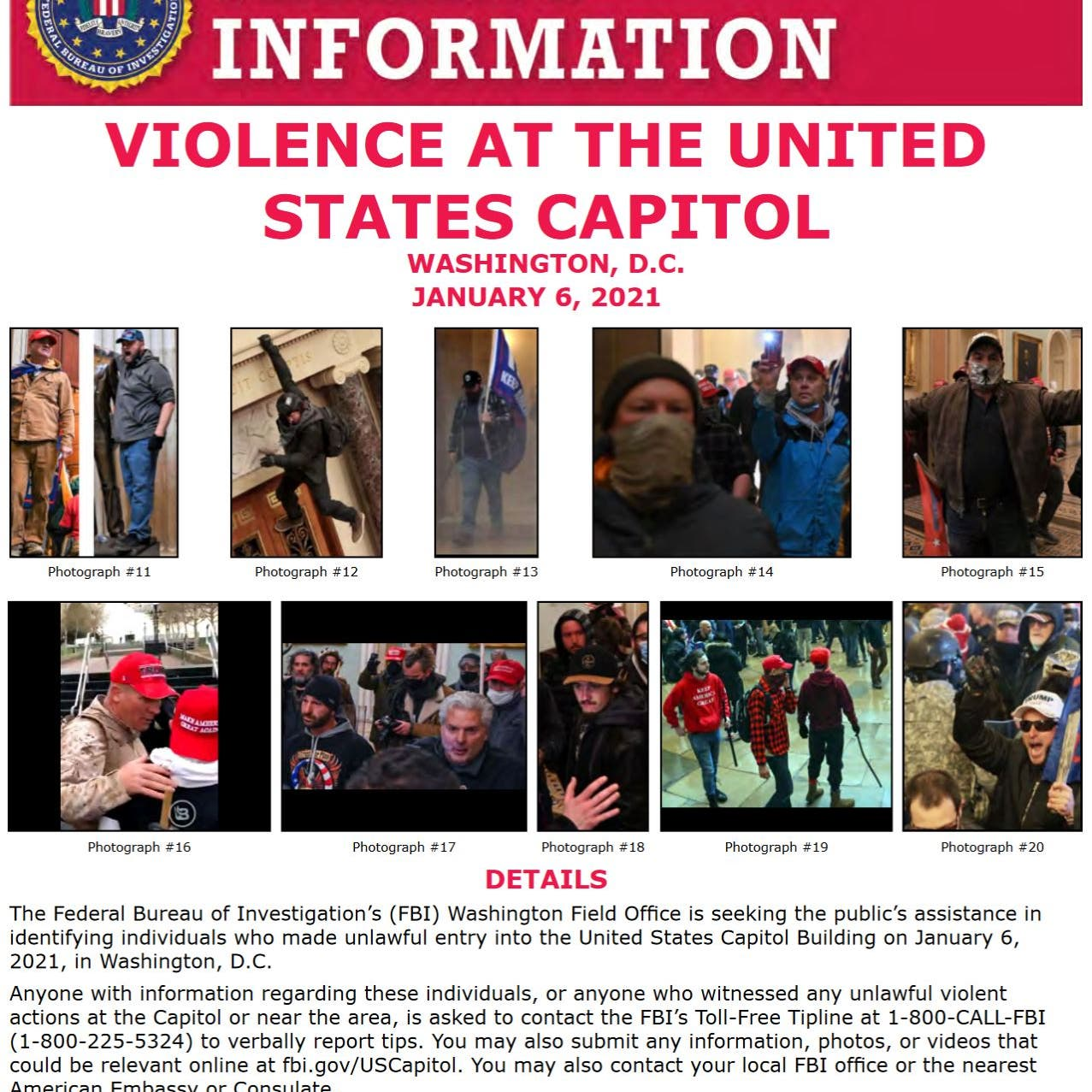 صور معفشي الكونغرس تنتشر.. و
