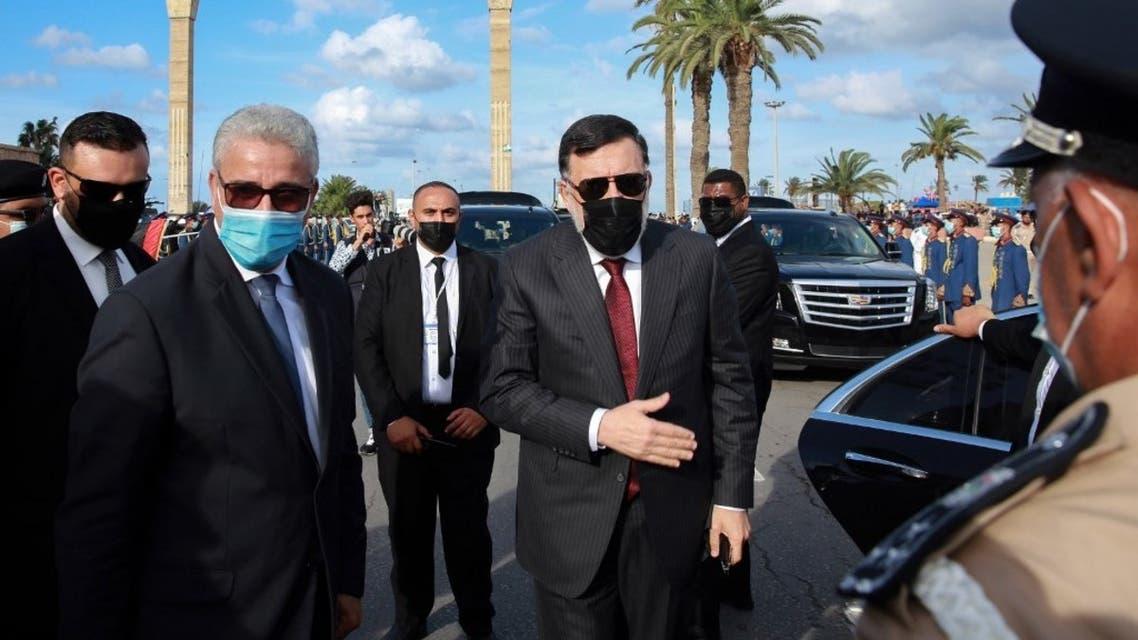 رئيس حكومة الوفاق الليبية فايز السراج - أرشيفية