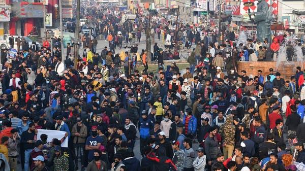 احتجاجات في الناصرية.. والأمن يستخدم قنابل الغاز