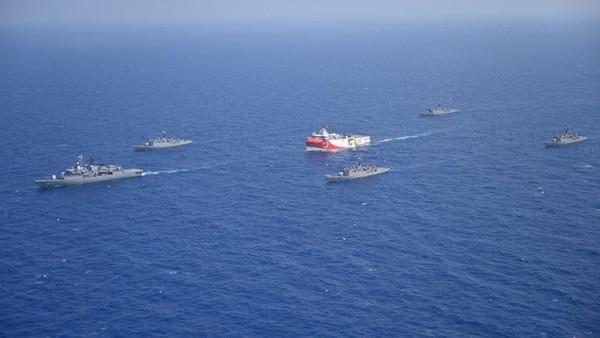 ترکی کا یونان کے مقابل فوجی مشقوں کا فیصلہ
