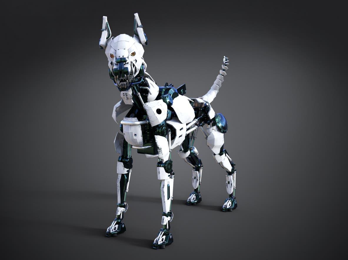 روبوت كلب - تعبيرية