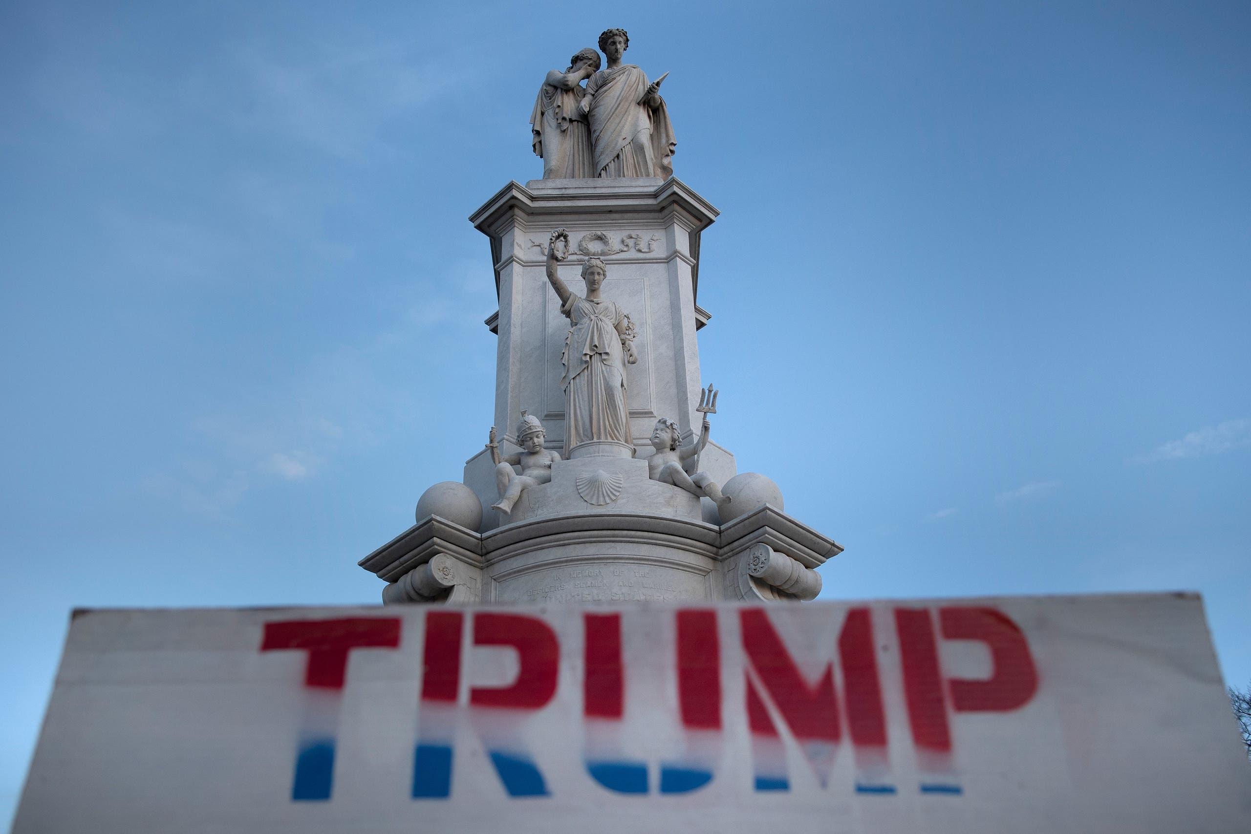 از ساختمان کاپیتول در واشنگتن (خبرگزاری فرانسه)