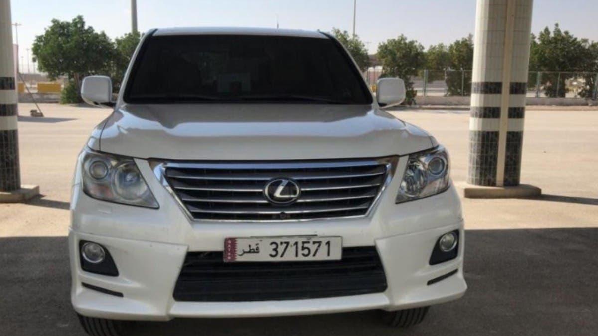 شاهد.. أول سيارة قطرية تدخل السعودية عبر منفذ سلوى