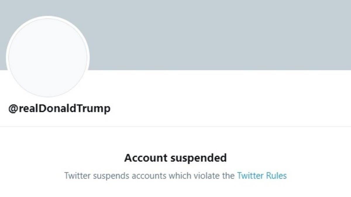 Twitter permanently suspends Trump's account thumbnail