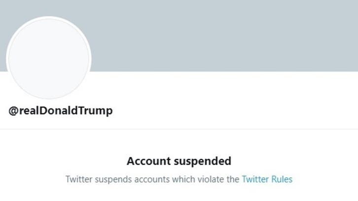 Twitter permanently suspends Trump's account