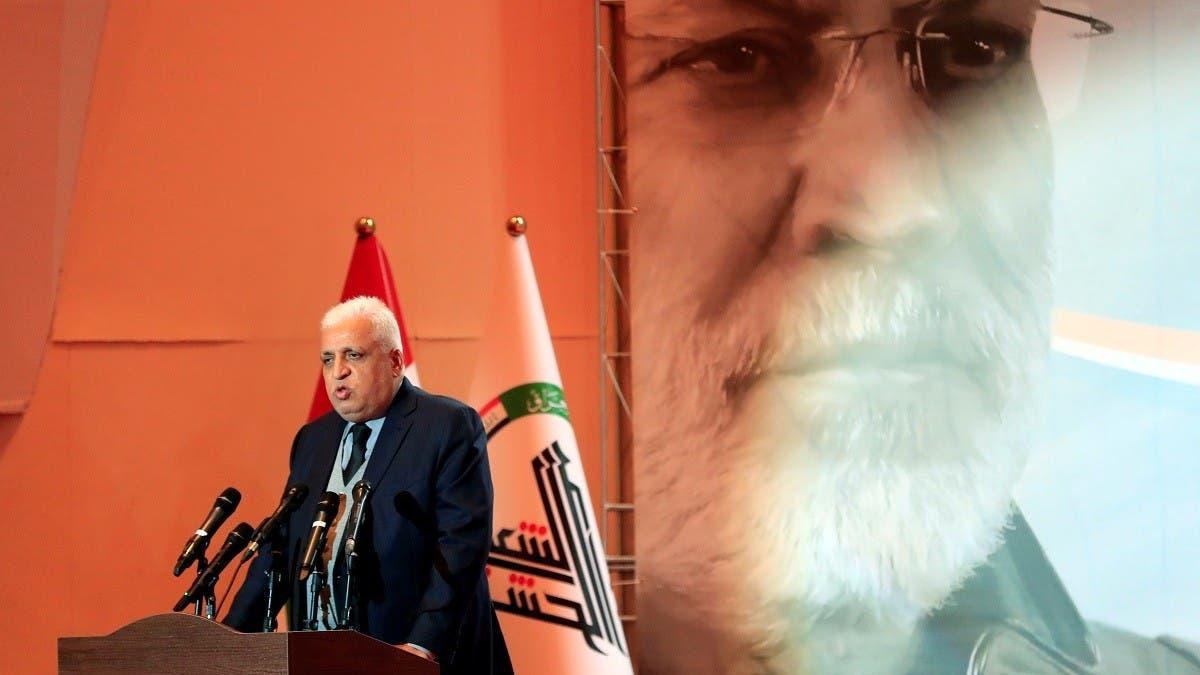 Iraq 'surprised' at US sanctions for top PMU militia leader thumbnail