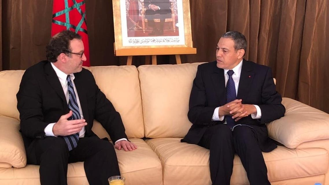 Assistant Secretary of State for Near Eastern Affairs David Schenker pictured in Laayoune. (US Embassy in Morocco)