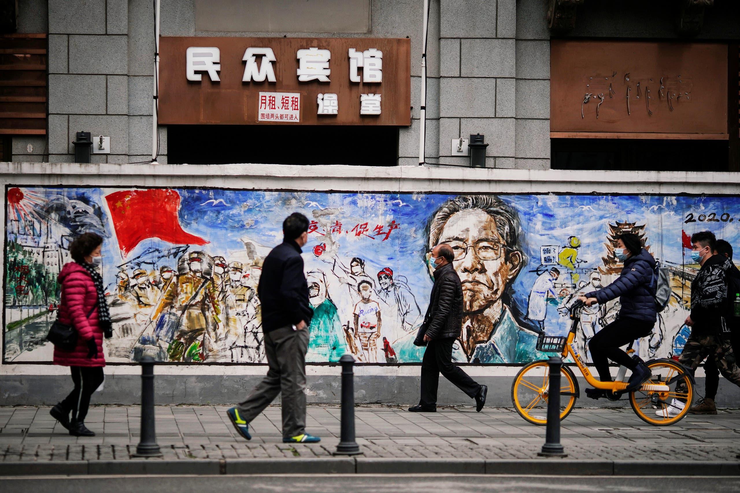 من شوارع ووهان في الصين - رويترز