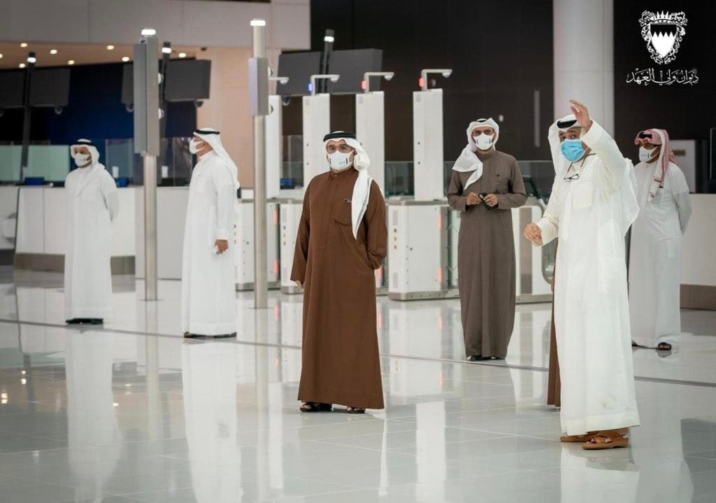 The new terminal at Bahrain International Airport can handle 14 million passengers a year. (Bahrain Crown Prince)