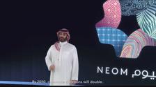سعودی ولی شہزادہ محمد کا مستقبل کے شہر نیوم میں ''دالائن''منصوبہ کا اعلان