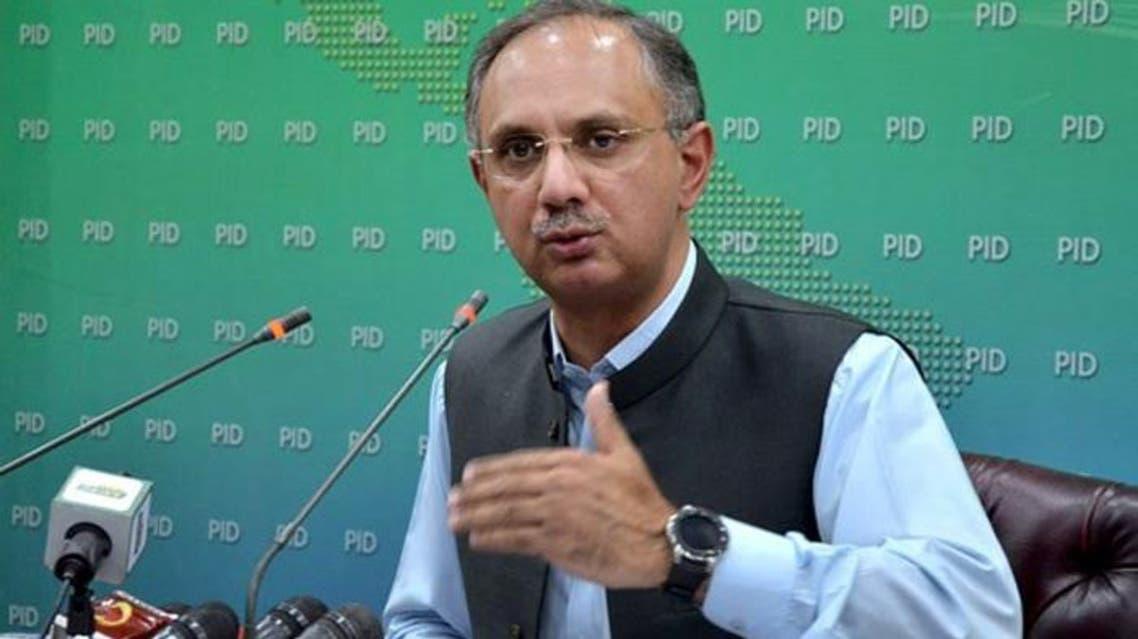 پاکستان کے وزیر توانائی عمر ایوب