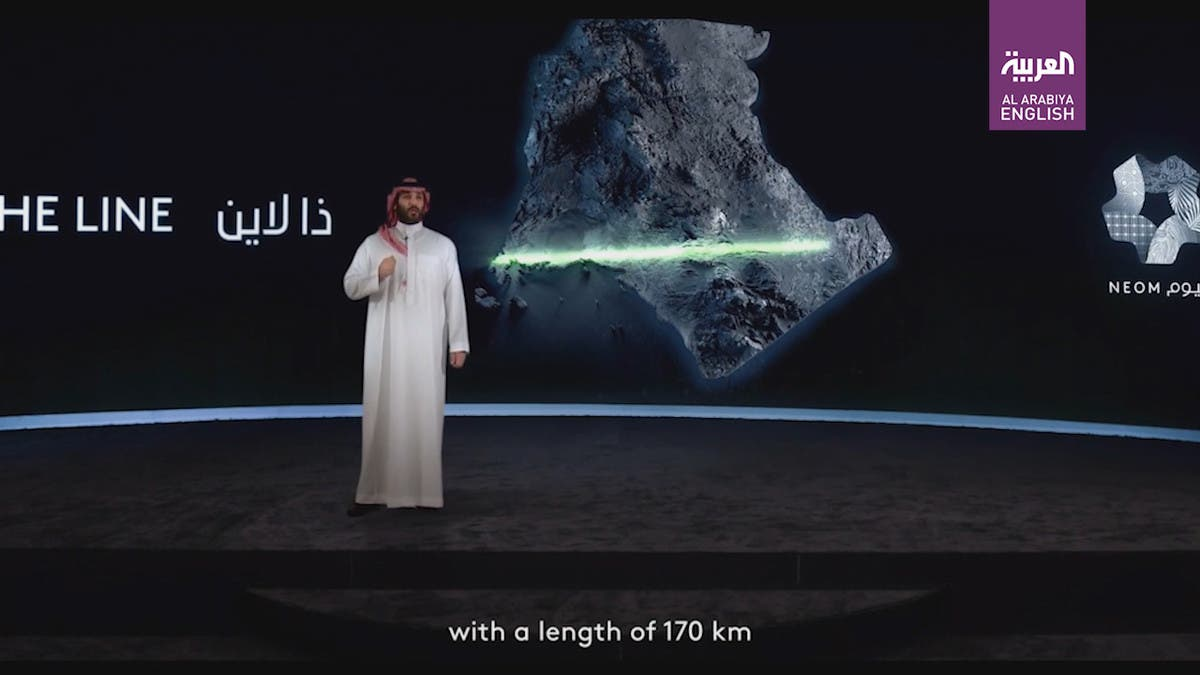 Saudi Arabia's Crown Prince reveals project 'THE LINE' in futuristic city of NEOM thumbnail