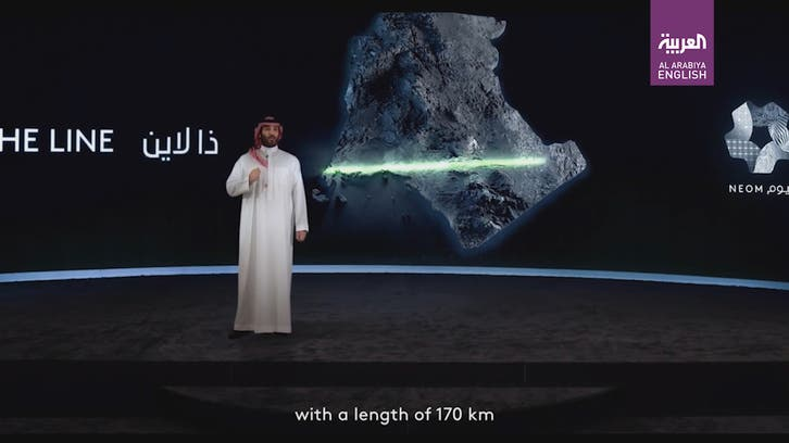 Saudi Arabia's Crown Prince reveals project 'THE LINE' in futuristic city of NEOM