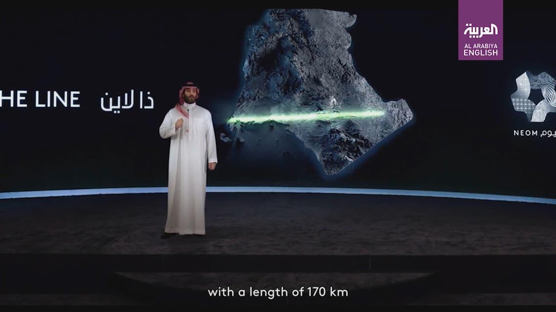 Saudi The Line