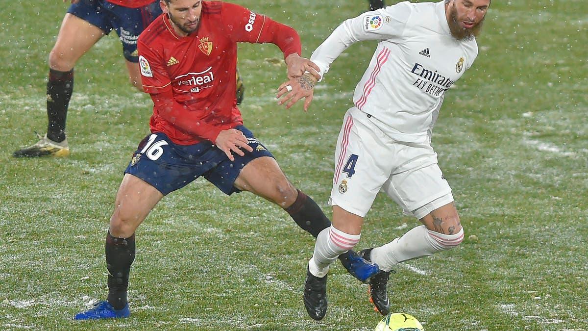 ريال مدريد يفشل في مضايقة أتلتيكو ويتعادل مع أوساسونا