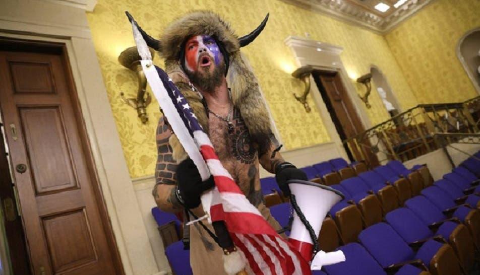 ذو القرنين، كما ظهر داخل الكونغرس