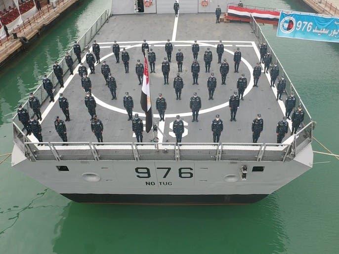 فرقاطة جديدة تنضم للبحرية بمصر.. لحماية المناطق الاقتصادية