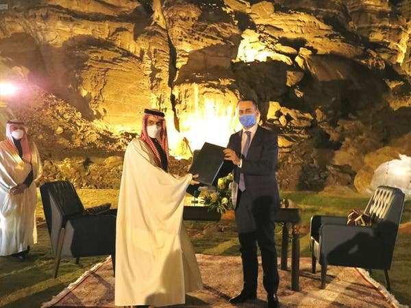 السعودية وإيطاليا توقعان مذكرة تفاهم للحوار الاستراتيجي