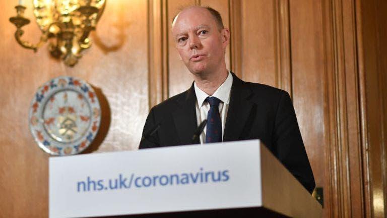 كبير المستشارين الطبيين للحكومة البريطانية كريس ويتي
