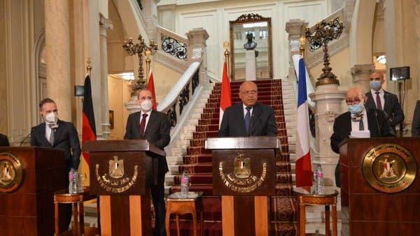 محادثات الرباعي.. اتفاق على استئناف السلام وتأكيد حل الدولتين