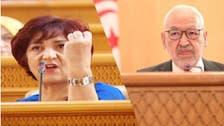 """تونس.. برلمانية تدخل في إضراب جوع احتجاجاً على """"عنف الغنوشي"""""""