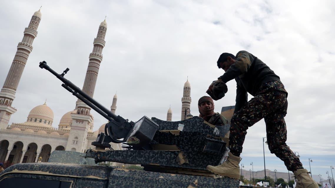 عنصران تابعان لميليشيا الحوثي