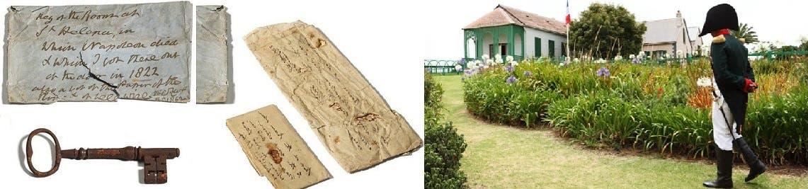 البيت والمفتح وما كتبه الجندي الانجليزي على الورقة