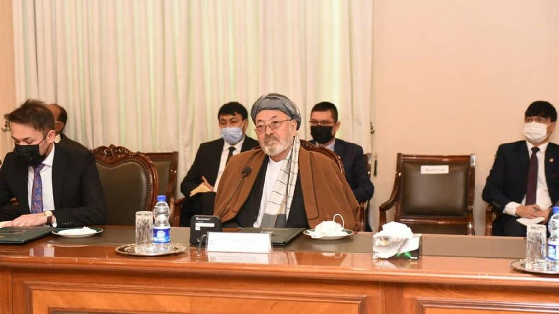 Afghan delegation led by Karim Khalili to arrive in Islamabad