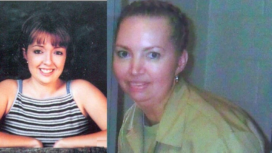من اليمين، القاتلة ليزا مونتغمري، وضحيتها