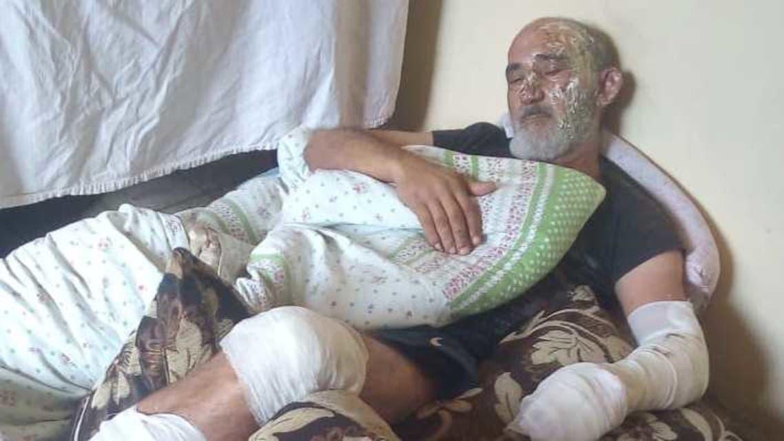 Ali Amhaz - sucide attempt