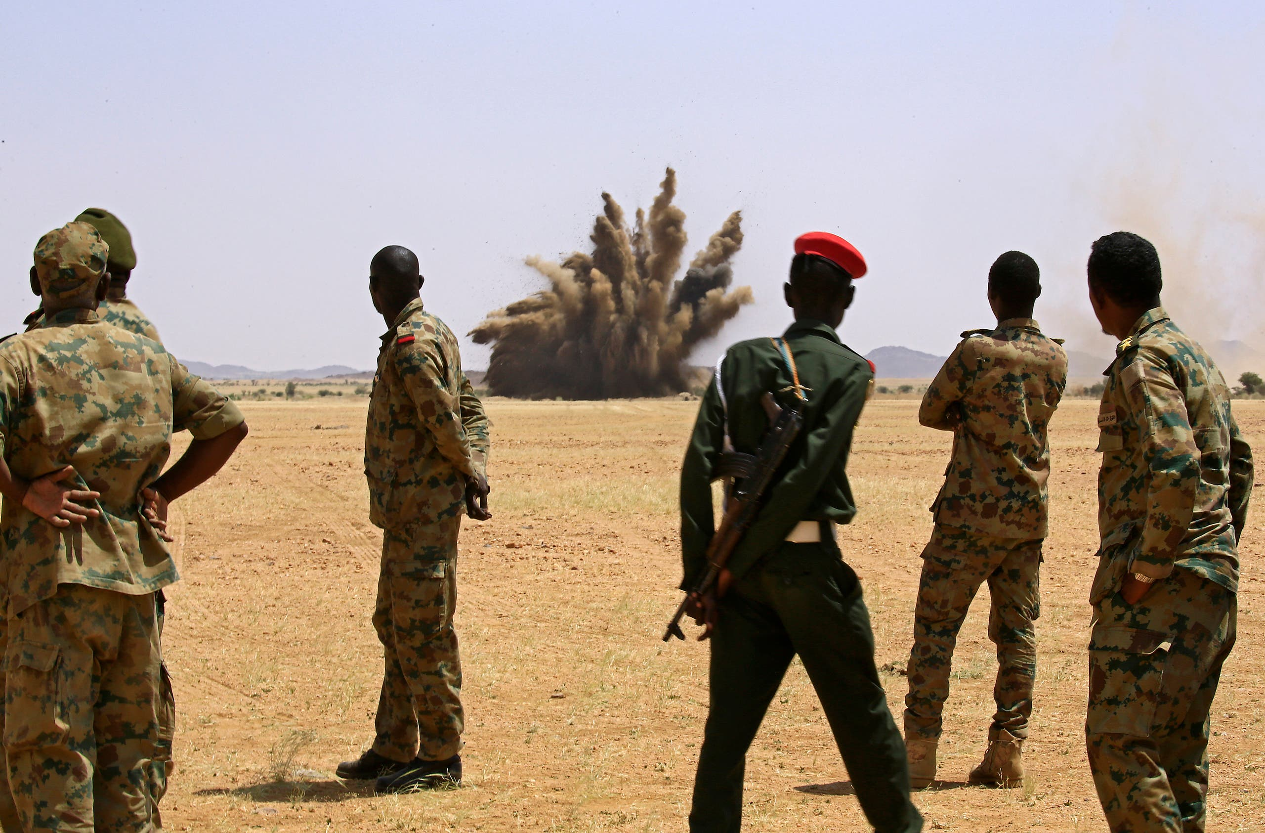 عناصر ارتش سودان (بایگانی - فرانس پرس)