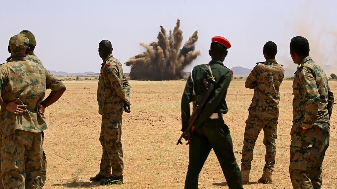 عناصر من الجيش السوداني (أرشيفية- فرانس برس)