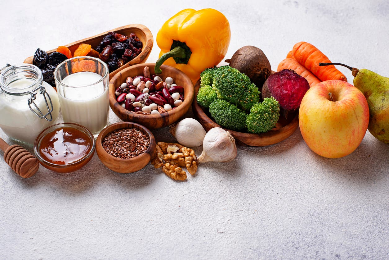 طعام صحي - تعبيرية