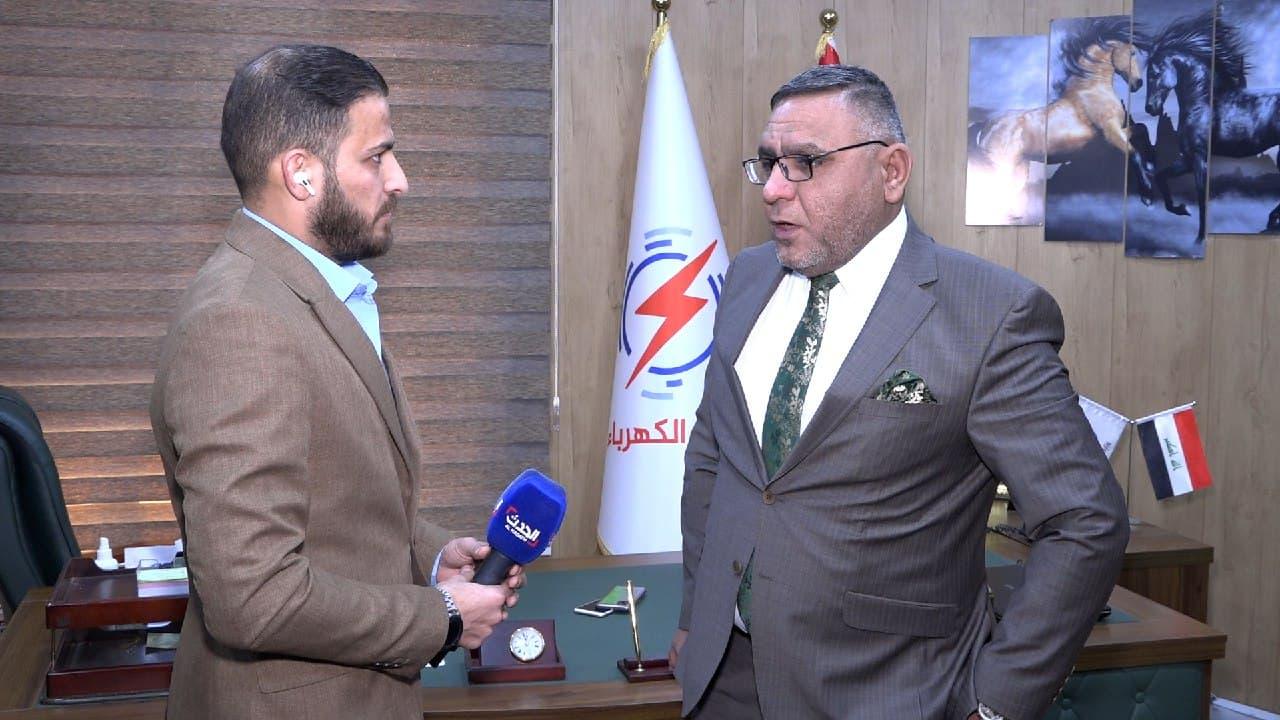 المتحدث باسم وزارة الكهرباء العراقية أحمد موسى العبادي