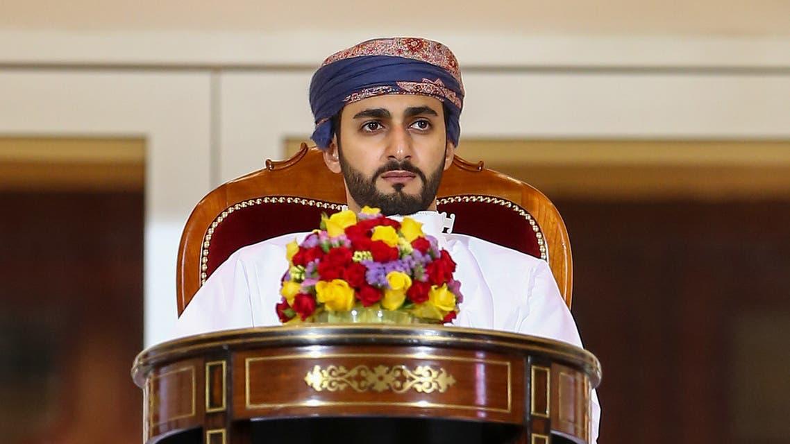 Dhi Yazan, Oman's crown prince. (AFP)