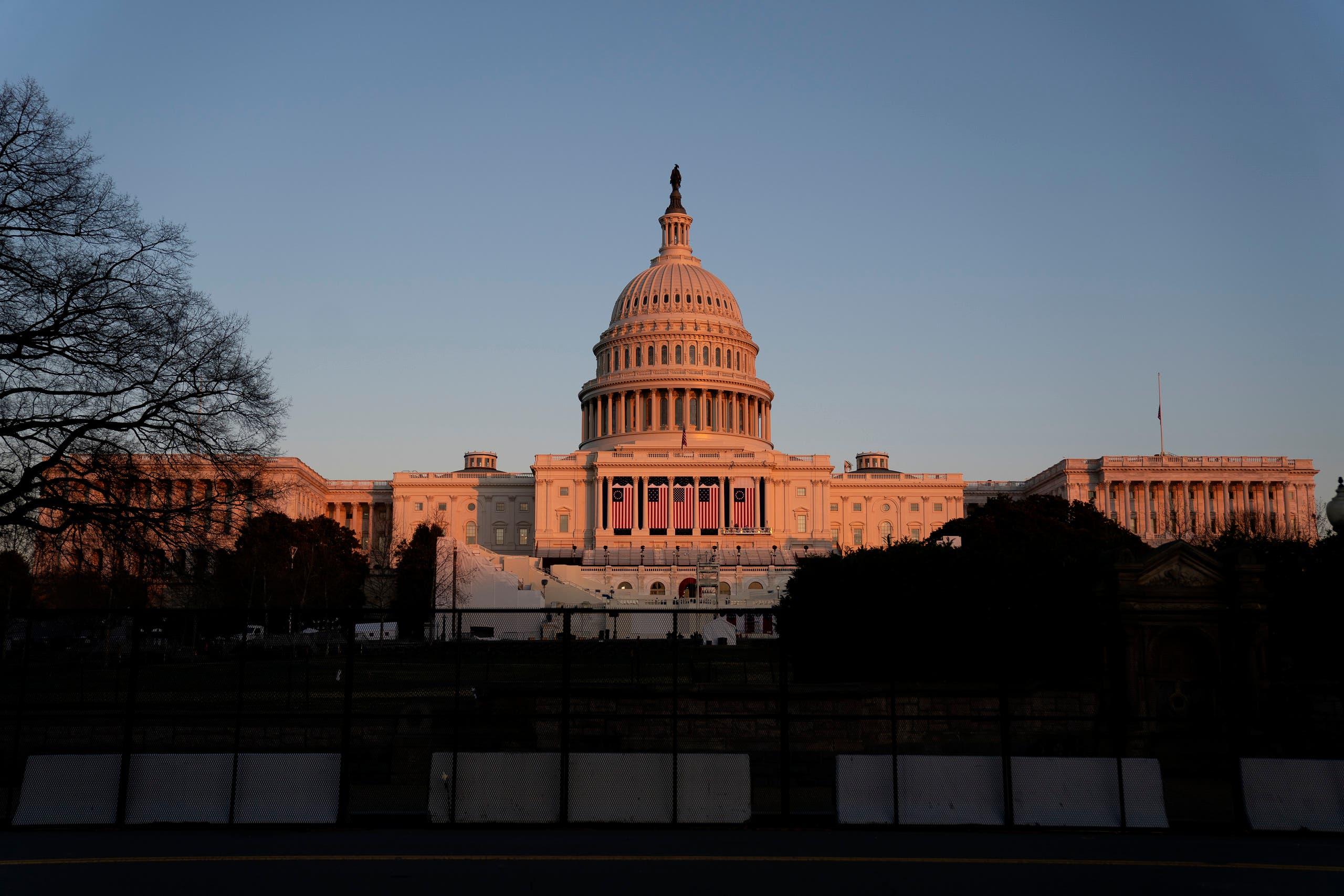 مبنى الكابيتول في العاصمة واشنطن