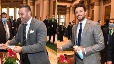 حسام غالي وحازم إمام يؤديان القسم بمجلس النواب المصري