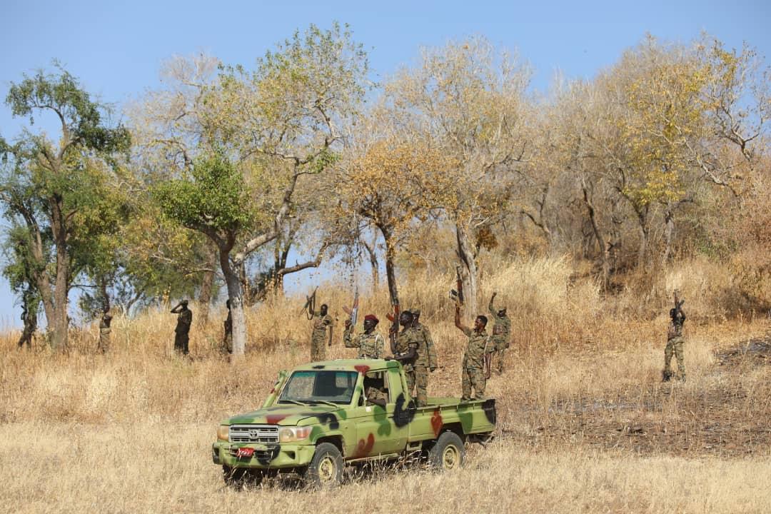 من الحدود السودانية