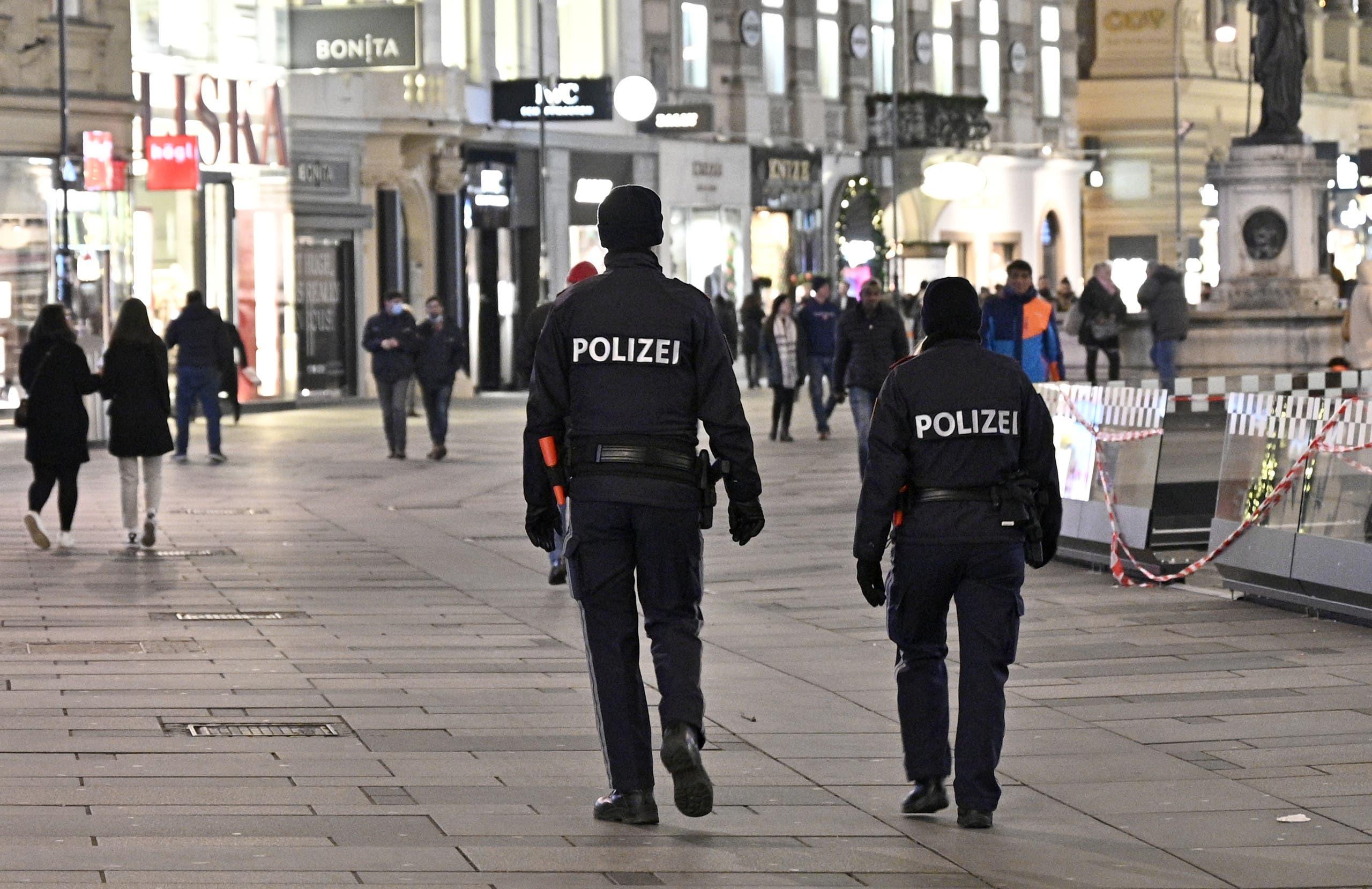 پلیس اتریش (بایگانی - France Press)