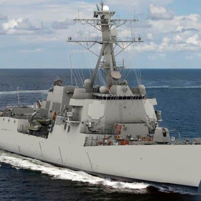 بدء تصنيع مدمرة من الجيل التالي بقدرات محسنة لبحرية أميركا