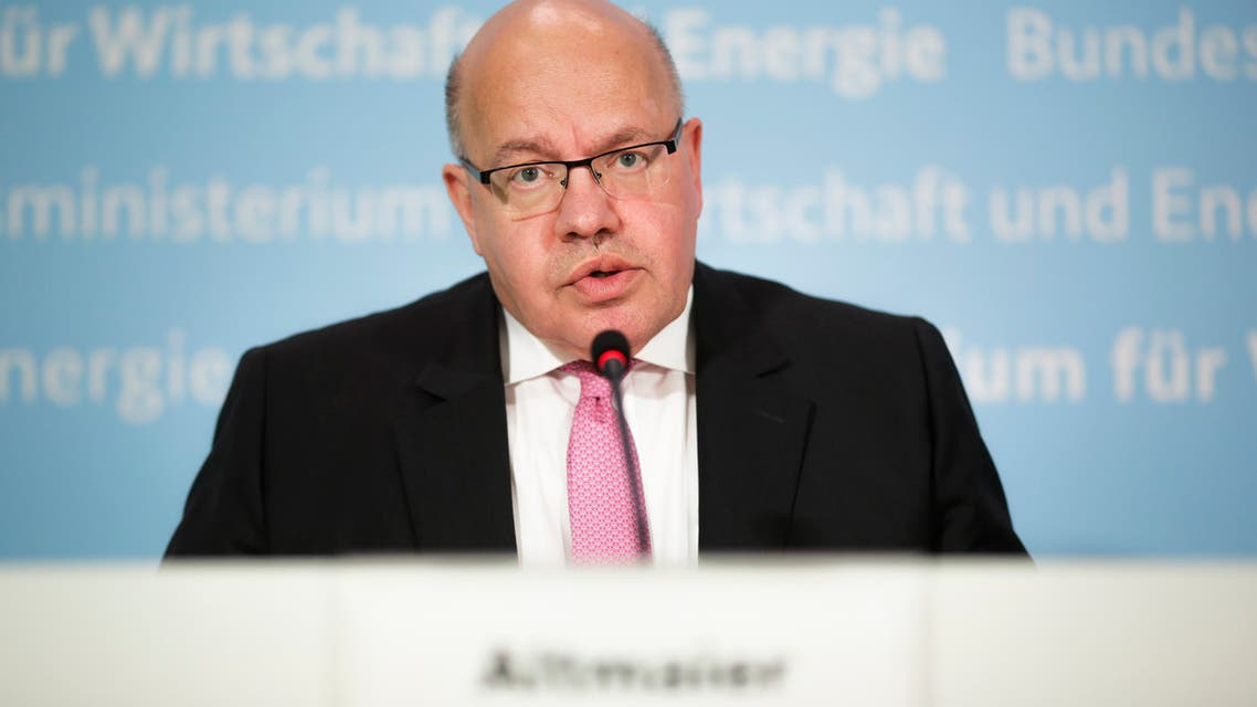 German Economy Minister Peter Altmaier briefs the media about a so called 'stabilization package' for German airline Lufthansa at the economy ministry in Berlin, Germany. (File photo: AP)