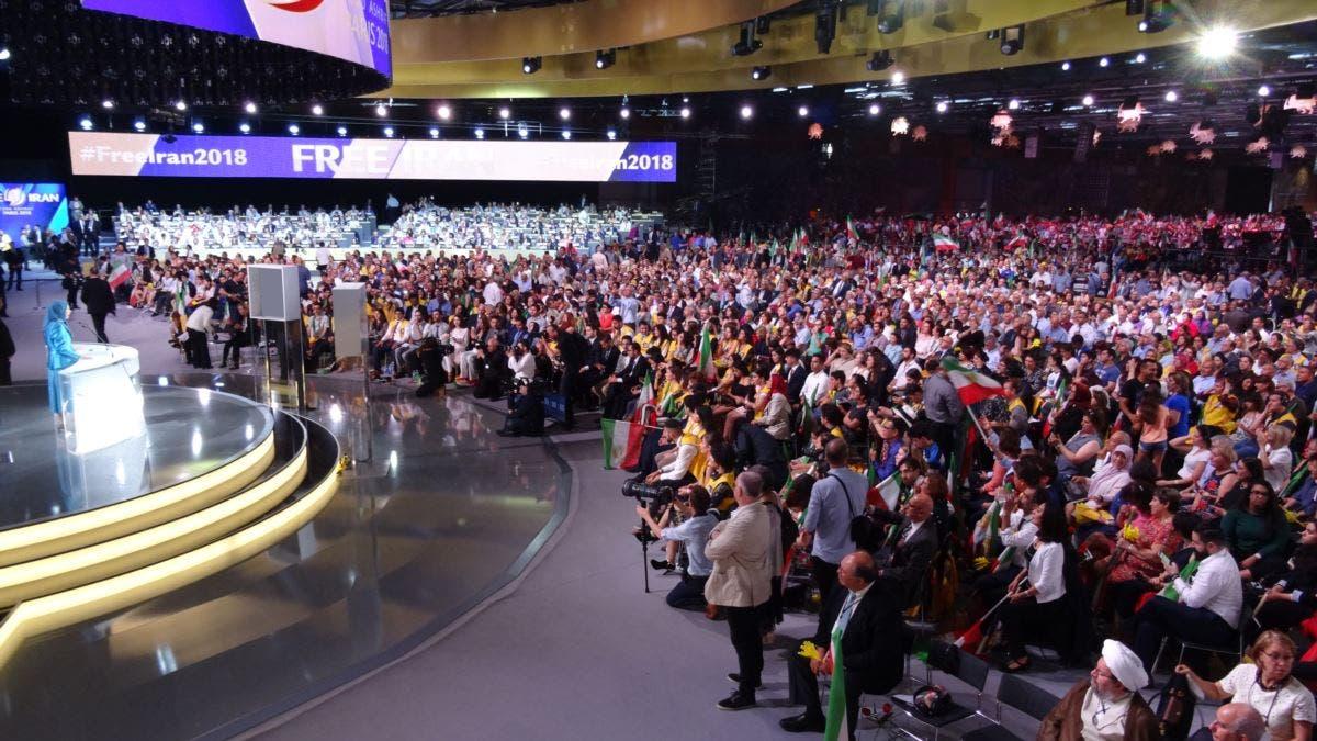 مؤتمر مجاهدي خلق قرب باريس