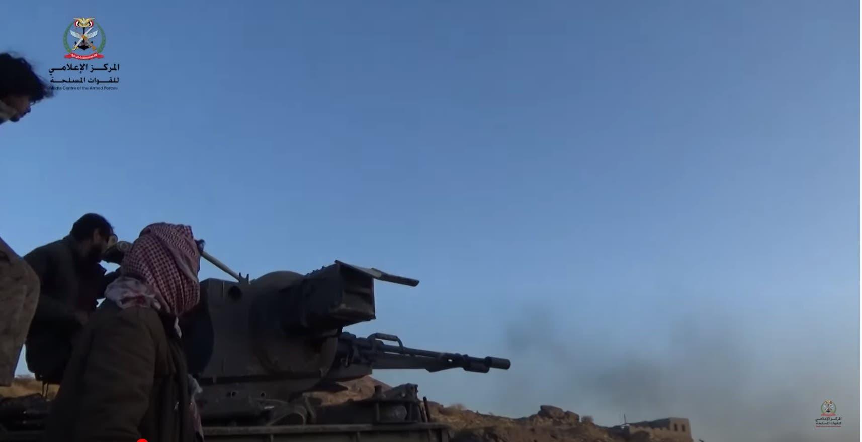 من عمليات الجيش اليمني في مأرب (أرشيفية)