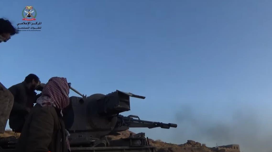 من عمليات الجيش اليمني في مأرب