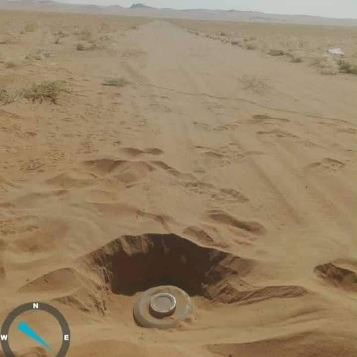 مأساة يمنية.. ذهب ليسعف ولديه فحولتهم ألغام الحوثي أشلاء!