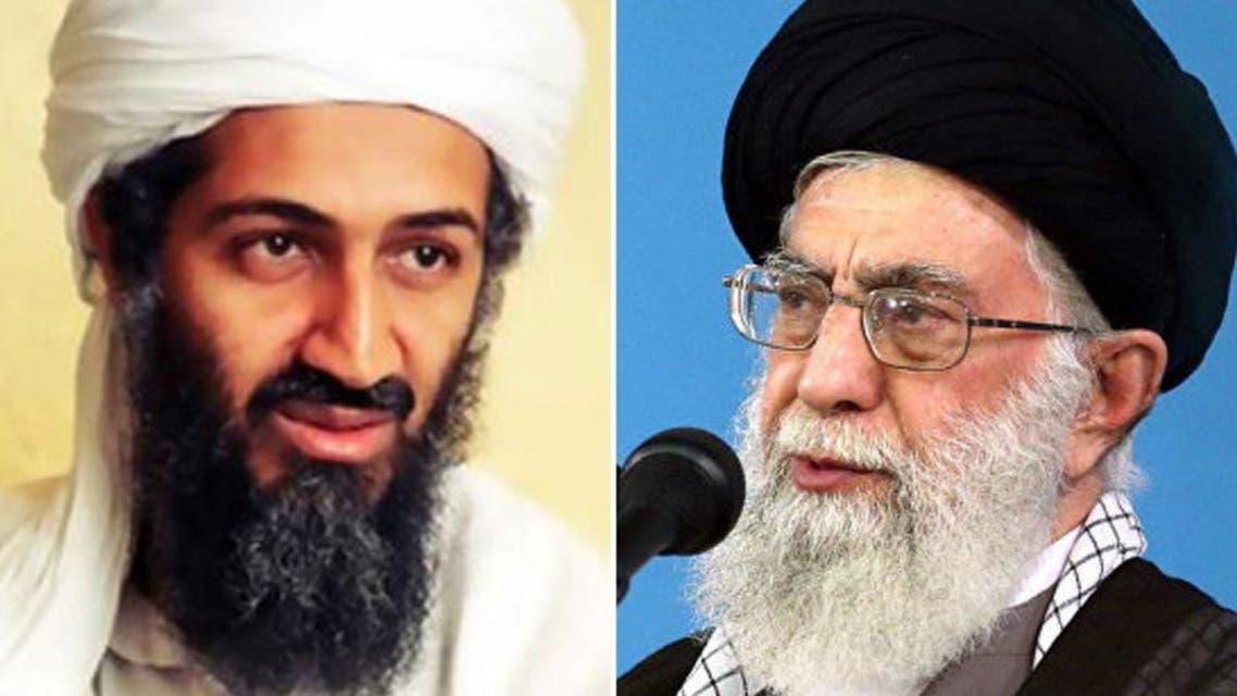 Osama bin Ladin and Khamnai
