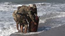 """العثور على لغم بحري إيراني من نوع """"صدف"""" غربي اليمن"""