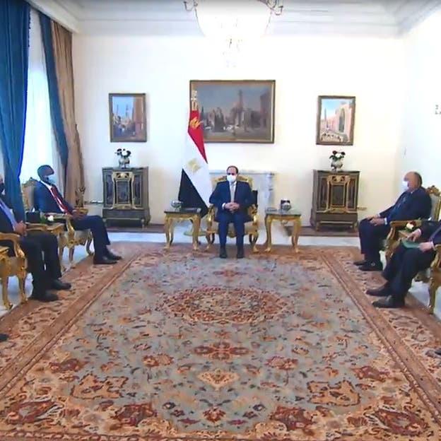 تفاصيل لقاء السيسي مع وفد السودان..التوتر مع إثيوبيا وتنسيق في سد النهضة